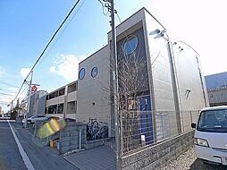 埼玉県越谷市南越谷2丁目の賃貸アパートの外観