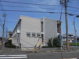 愛知県海部郡蟹江町源氏1丁目の賃貸アパートの外観
