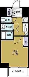 ファステート大阪ドームシティ[3階]の間取り