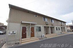 福岡県北九州市小倉北区赤坂2の賃貸アパートの外観