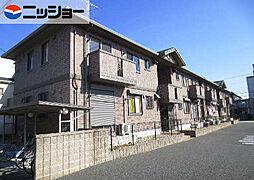 愛知県北名古屋市熊之庄細長の賃貸アパートの外観