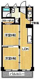 みなとマンション[5階]の間取り