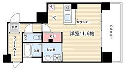 IL ROSSO 堀川六角[3階]の間取り