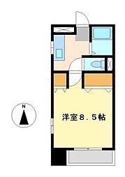 サンヴェール栄生[3階]の間取り