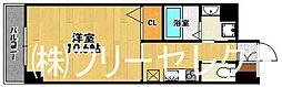 ウェルカム県庁口[7階]の間取り