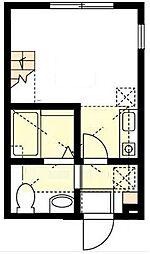 ハーミットクラブハウス山手III(仮)[1階]の間取り