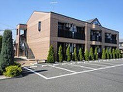 埼玉県深谷市東方町4の賃貸アパートの外観