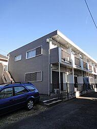 東京都調布市柴崎1丁目の賃貸アパートの外観