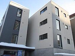北海道札幌市白石区本郷通10丁目北の賃貸マンションの外観