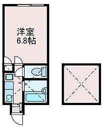 ビラコートK[2階]の間取り