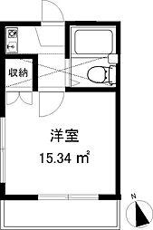 スリージェ桜ヶ丘II[204号室]の間取り