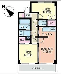 フレックス湘南石川[3階]の間取り
