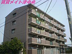 三重県津市阿漕町津興の賃貸マンションの外観