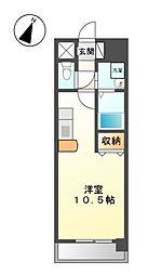 ソラナ平安[9階]の間取り