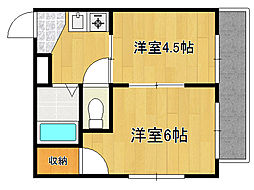 新深江CTスクエア[3階]の間取り