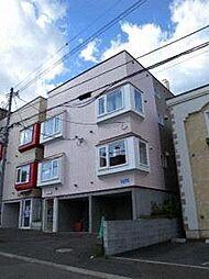 北海道札幌市豊平区平岸五条13丁目の賃貸アパートの外観
