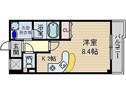 グランエスポワール[2階]の間取り