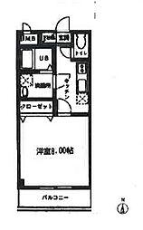 セレーノ武蔵浦和[303号室]の間取り