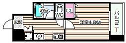 ニッショー福島[7階]の間取り