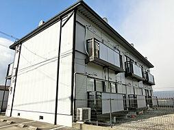 滋賀県甲賀市水口町北脇の賃貸アパートの外観