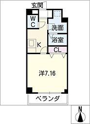 Blue Square[1階]の間取り