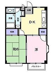 サザンコート長崎 A[2階]の間取り