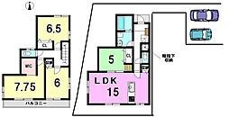 天白区 梅が丘18-2期 2号棟 リナージュ 新築戸建