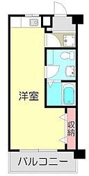 次楽マンション[3F号室]の間取り