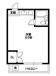 シルクルーム1番館[2階]の間取り