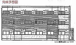 ル・クール[1階]の外観