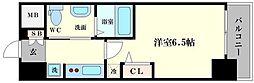 エステムコート難波WEST-SIDEⅣザ・フォース[3階]の間取り