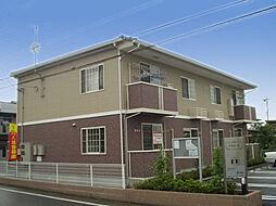 群馬県前橋市総社町高井の賃貸アパートの外観