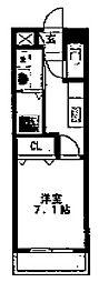 京成大久保マンション・新築アパート[105号室号室]の間取り