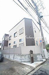 東京都町田市中町4丁目の賃貸アパートの外観