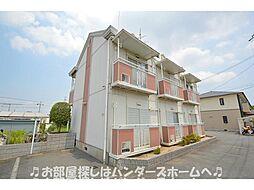 大阪府枚方市小倉東町の賃貸アパートの外観