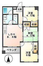 山田ビル[2階]の間取り