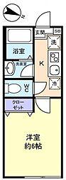 勝田台PD III[2階]の間取り