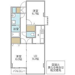 KAISHO[512号室号室]の間取り