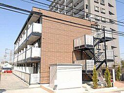 埼玉県戸田市新曽の賃貸マンションの外観