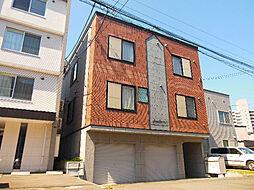 北海道札幌市東区北九条東9丁目の賃貸アパートの外観