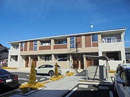 愛知県北名古屋市徳重米野の賃貸アパートの外観