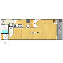 Villa Levante[405号室]の間取り