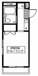 臼井第2ビル[208号室号室]の間取り