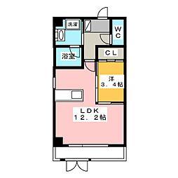 N−GLANZ[1階]の間取り