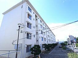 上高丸住宅D棟[1階]の外観