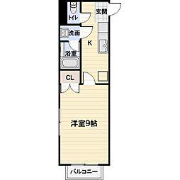 NASU29[201号室]の間取り