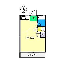 ロイヤルハイツ(大津)[2階]の間取り