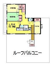 グランディア六甲道[4階]の間取り
