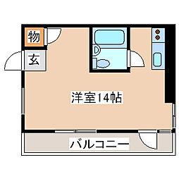 兵庫県神戸市長田区戸崎通1丁目の賃貸マンションの間取り