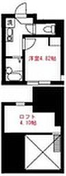 Elua西横浜[104号室]の間取り